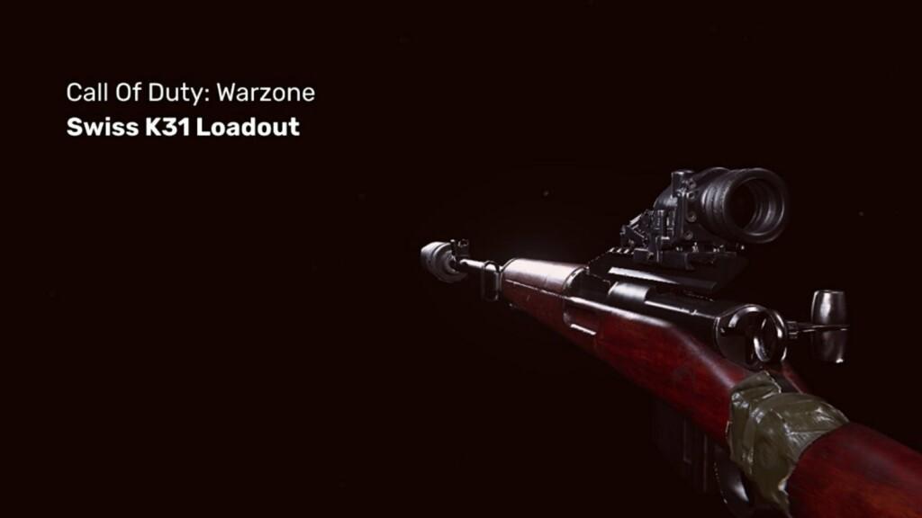best Swiss K31 loadout in Warzone