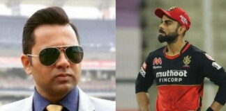 Aakash Chopra and RCB skipper Virat Kohli