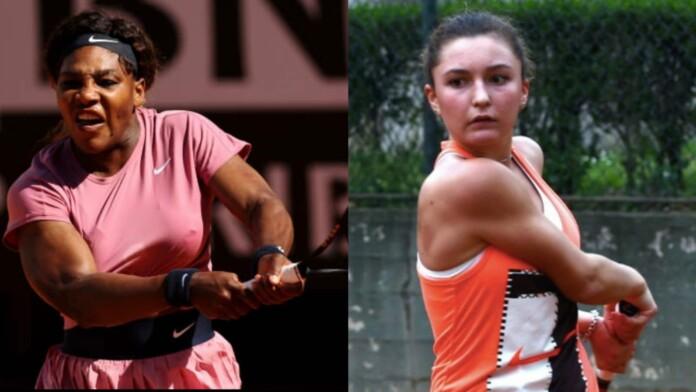 Serena Williams vs Lisa Pigato