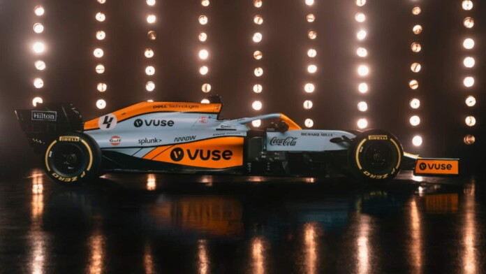 McLaren F1 livery