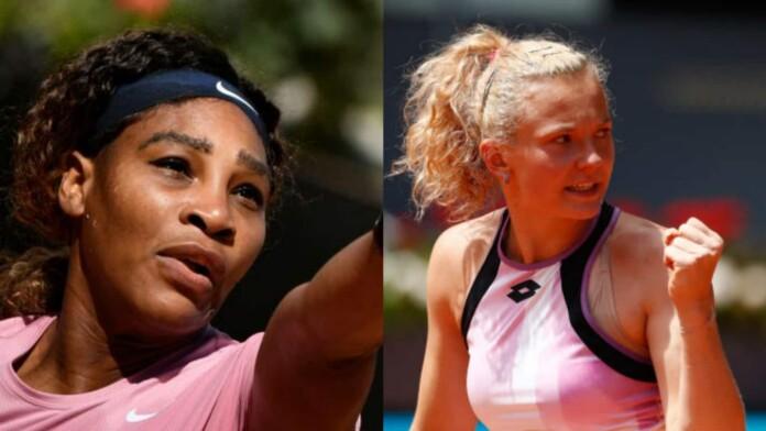 Serena Williams vs Katerina Siniakova