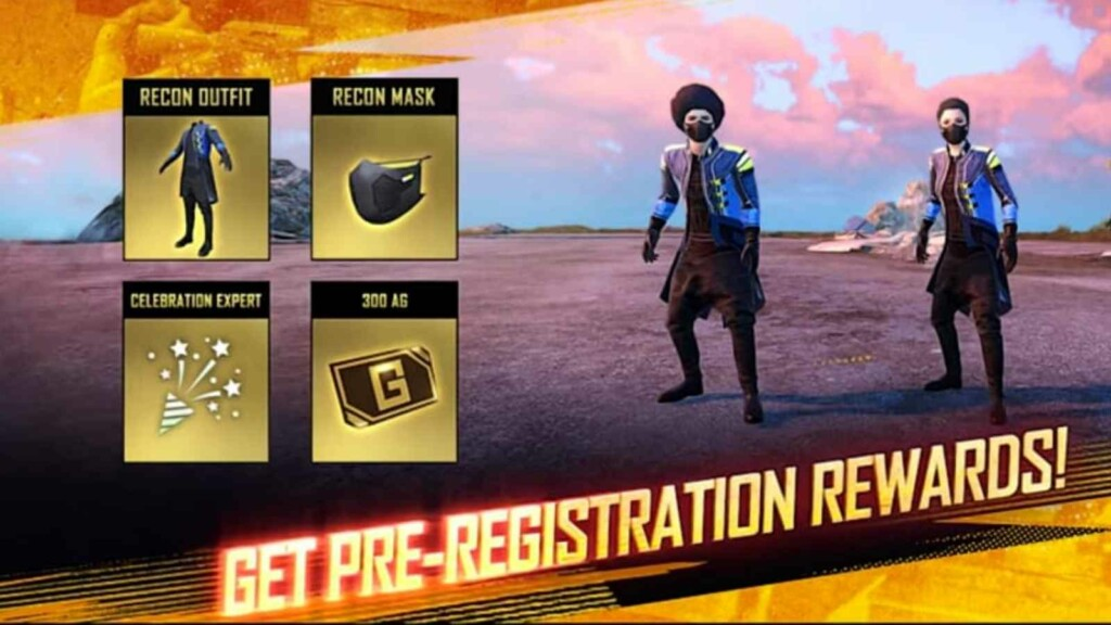 Recon Outfit and Mask in Battlegrounds Mobile India