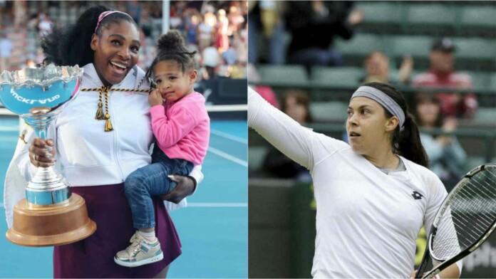 Marion Bartoli and Serena Williams