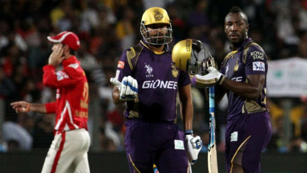 Yusuf Pathan Andre Russell IPL KKR