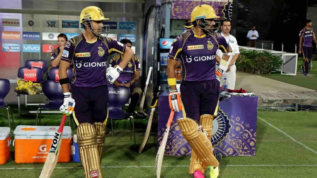 Robin Uthappa and Gautam Gambhir IPL 2014