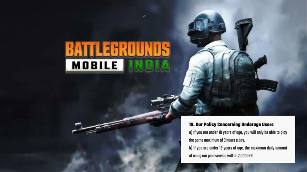 Battlegrounds Mobile India limited playing hours for Players