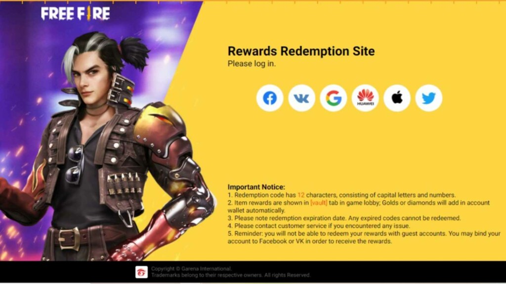 how to use redeem codes