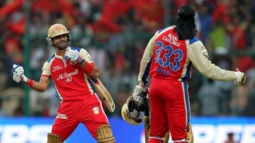 Chris Gayle Virat Kohli RCB IPL