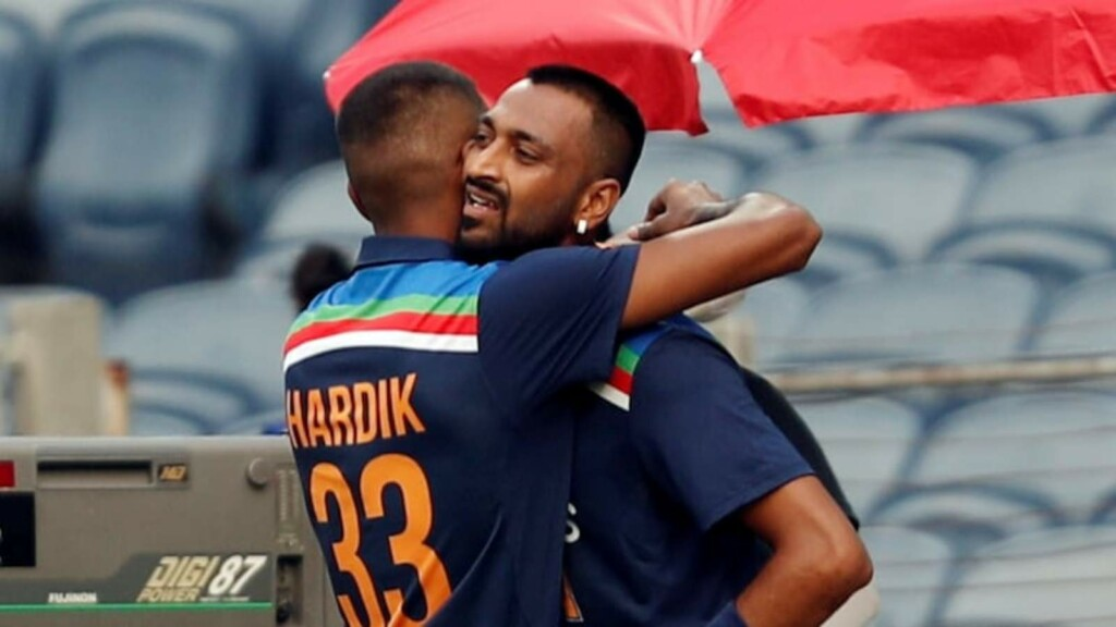 Hardik Pandya Krunal Pandya Team India