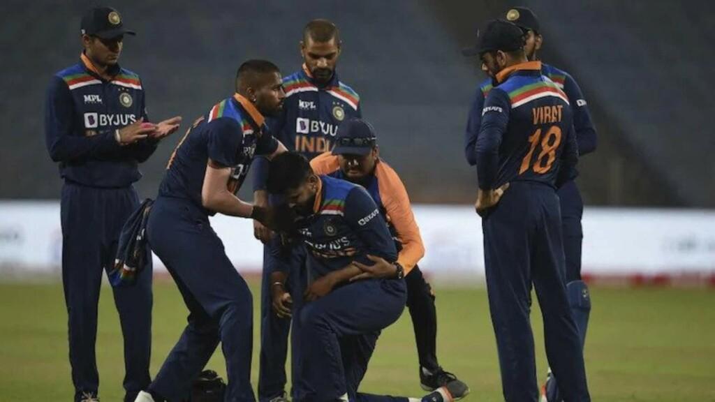 Shreyas Iyer injury India vs Sri Lanka