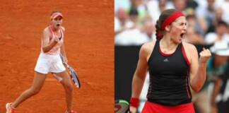 Sofia Kenin vs Jelena Ostapenko
