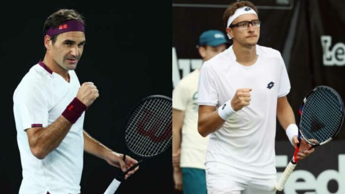 Roger Federer vs Denis Istomin