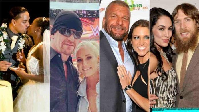 Tripleh,the undertaker,jimmy uso, daniel bryan