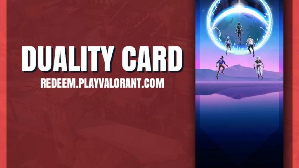 Valorant Duality Card
