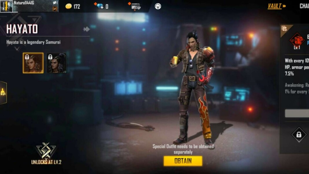 Best Free Fire character combinations