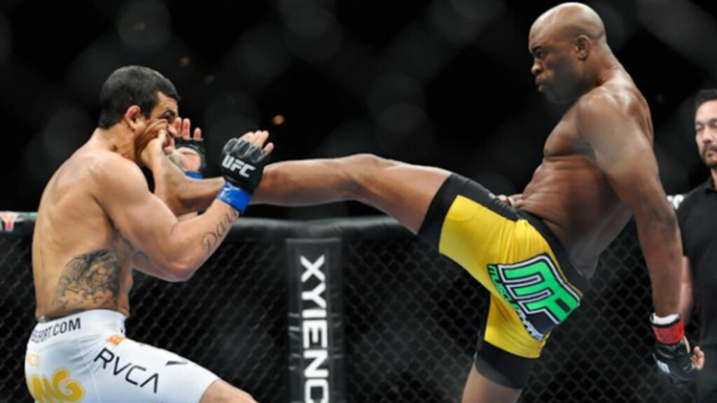 Anderson Silva knockouts