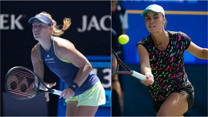 Angelique Kerber vs Anhelina Kalinina will meet for the first time in the French Open 2021.