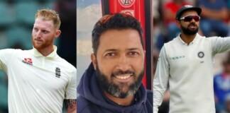 Ben Stokes, Wasim Jaffer and Virat Kohli