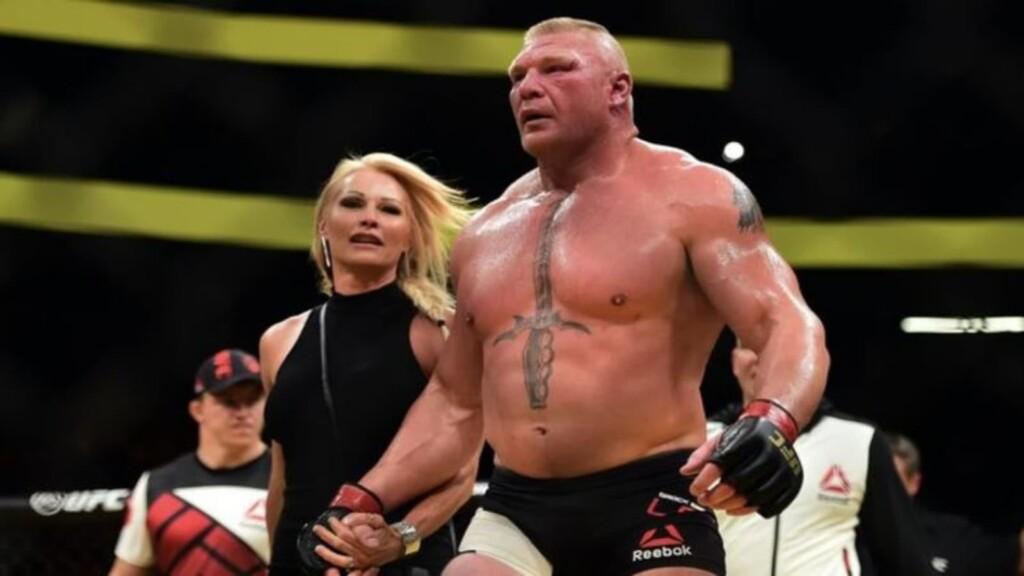 Brock Lesnar's family