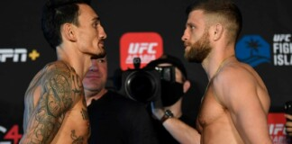 Calvin Kattar vs Max Holloway
