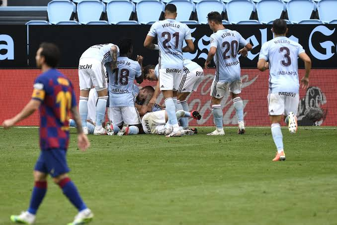 Celta Vigo with a last minute winner - FirstSportz