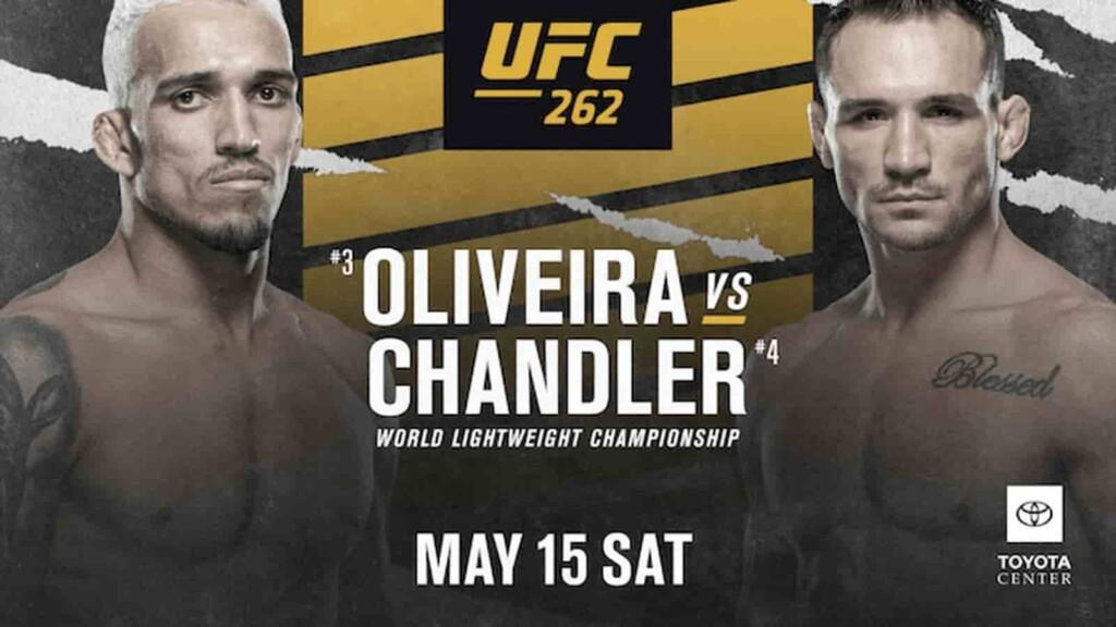 UFC 262 full fight card