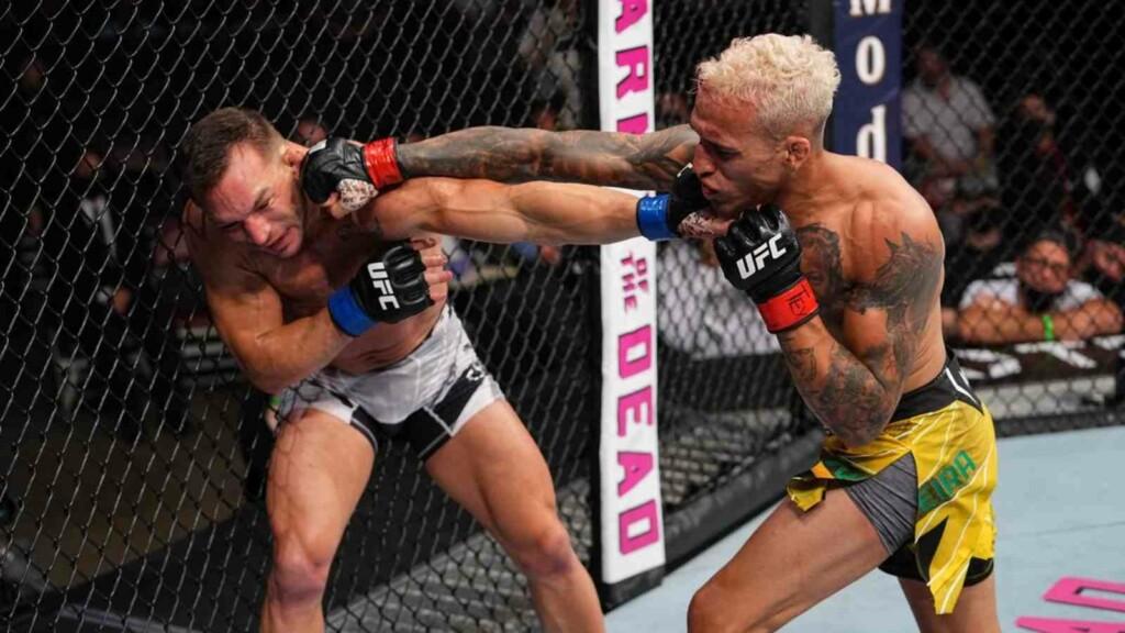 Charles Oliveira vs. Michael Chandler at UFC 262