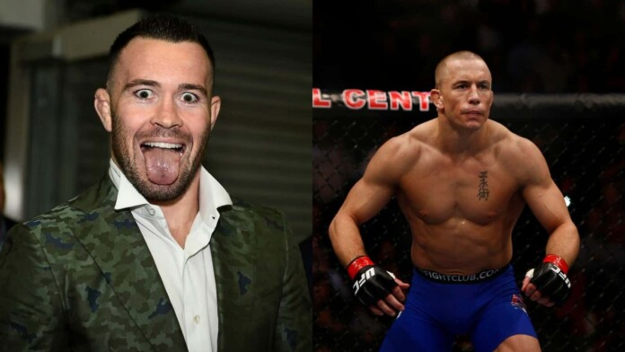 Colby Covington on Georges St-Pierre