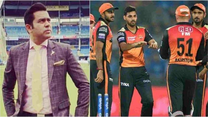 Aakash Chopra and Sunrisers Hyderabad