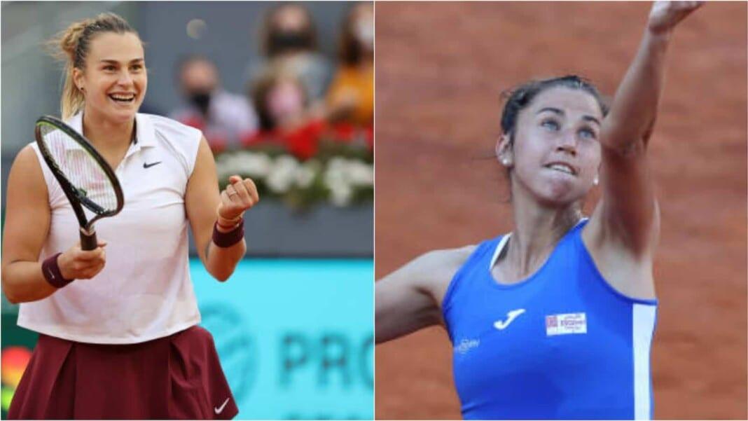 Aryna Sabalenka vs Sara Sorribes Tormo