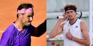 Rafael Nadal vs Alexander Zverev