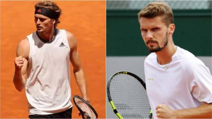 Alexander Zverev vs Oscar Otte