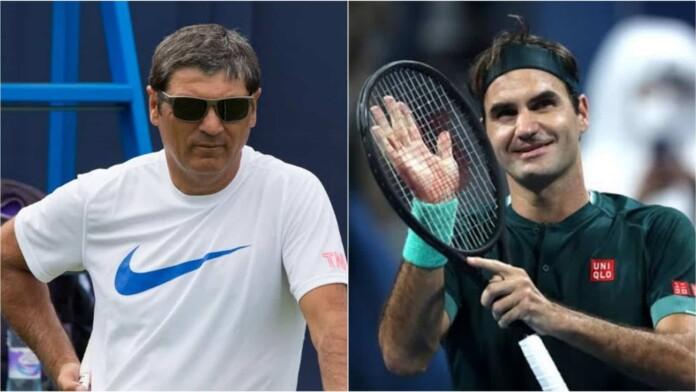 Toni Nadal, Roger Federer