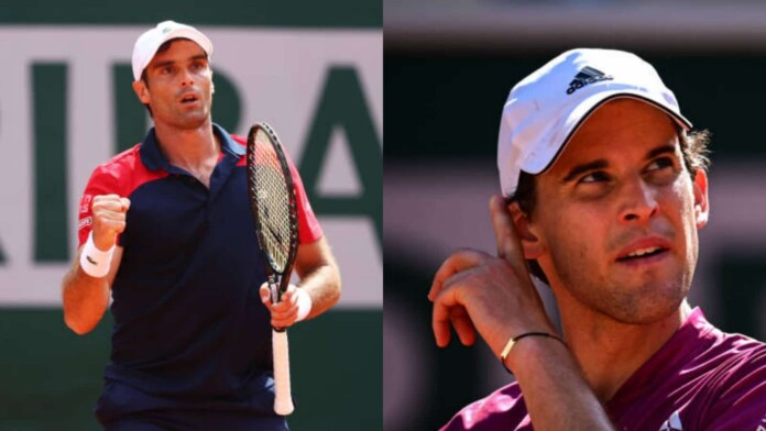 Pablo Andujar and Dominic Thiem
