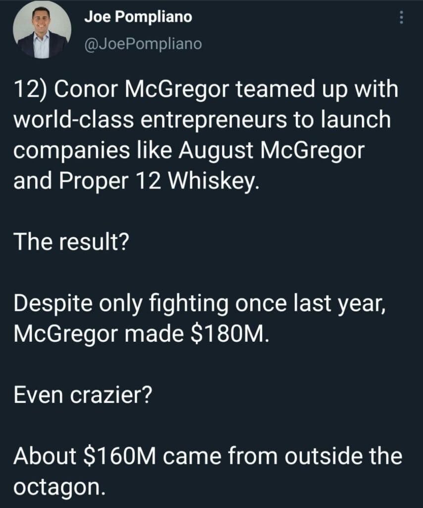 Conor McGregor Proper 12