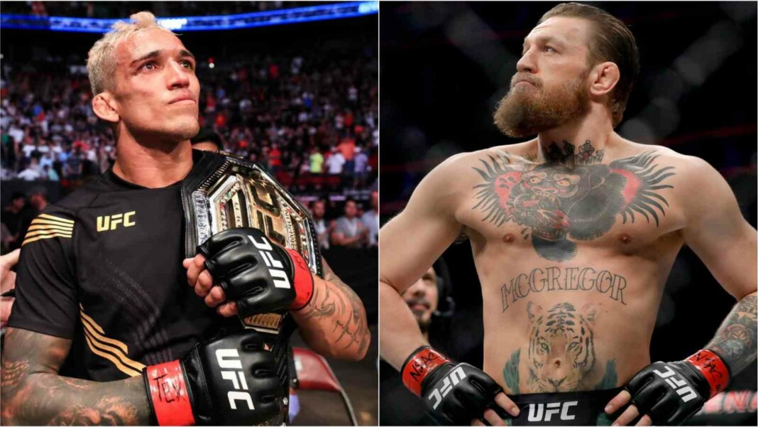 Conor McGregor and Charles Oliveira