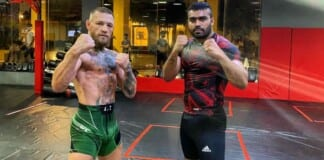Conor McGregor and Indian heavyweight