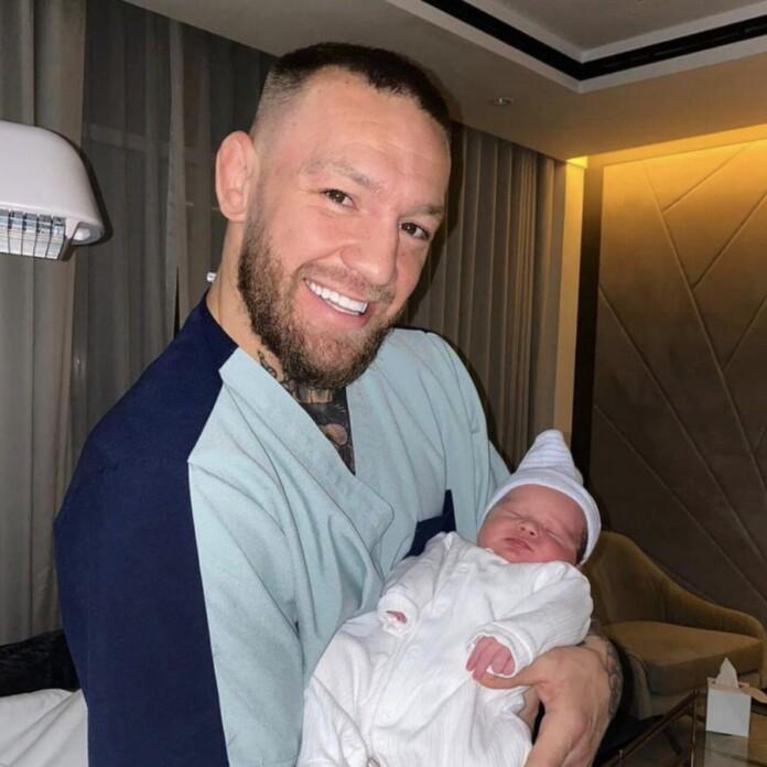 Conor McGregor new born