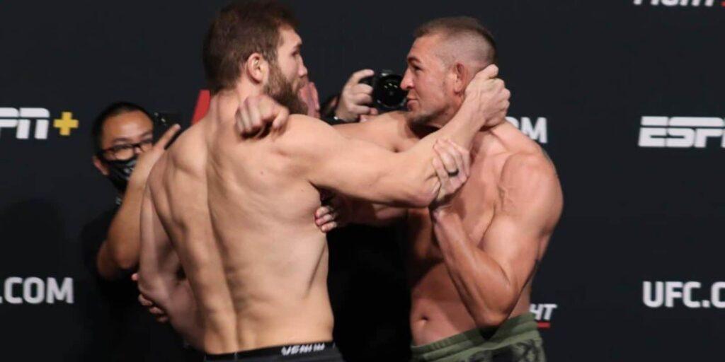 Dana White UFC Vegas 25 weigh ins