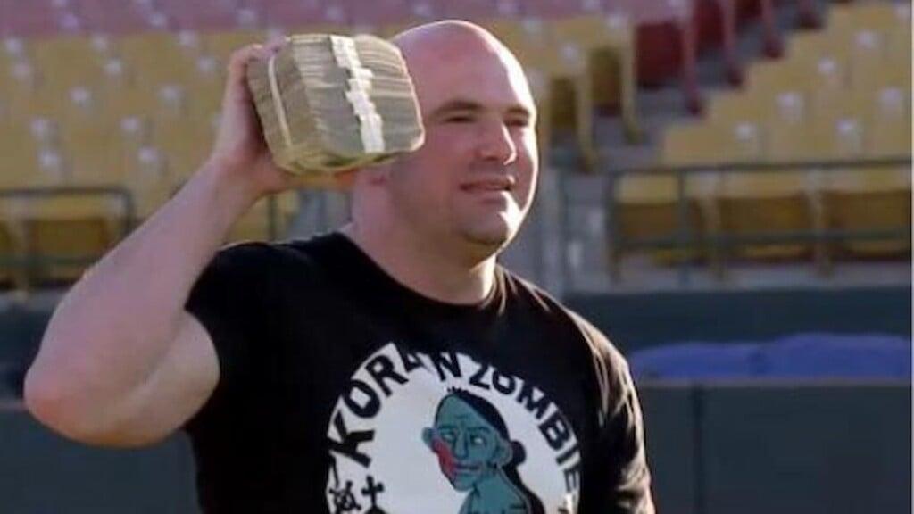 Dana White money