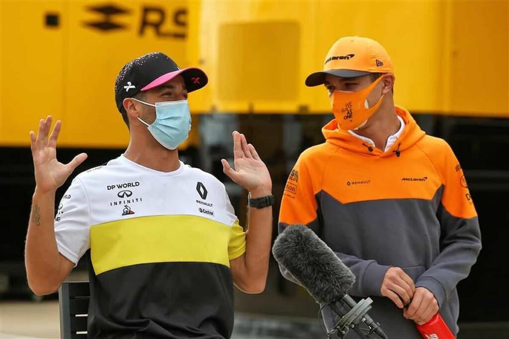 Daniel Ricciardo and Lando Norris 1 - FirstSportz