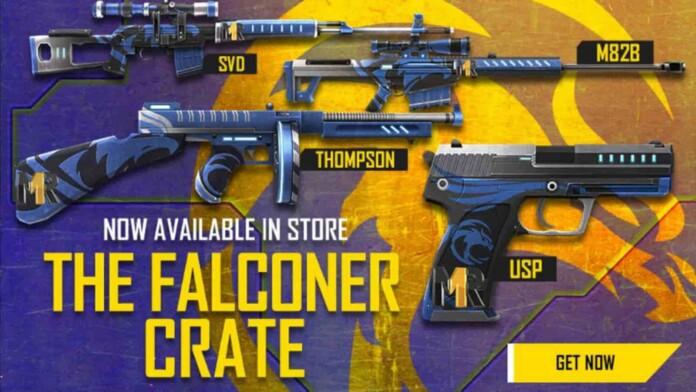 Falconer Crate in Free Fire