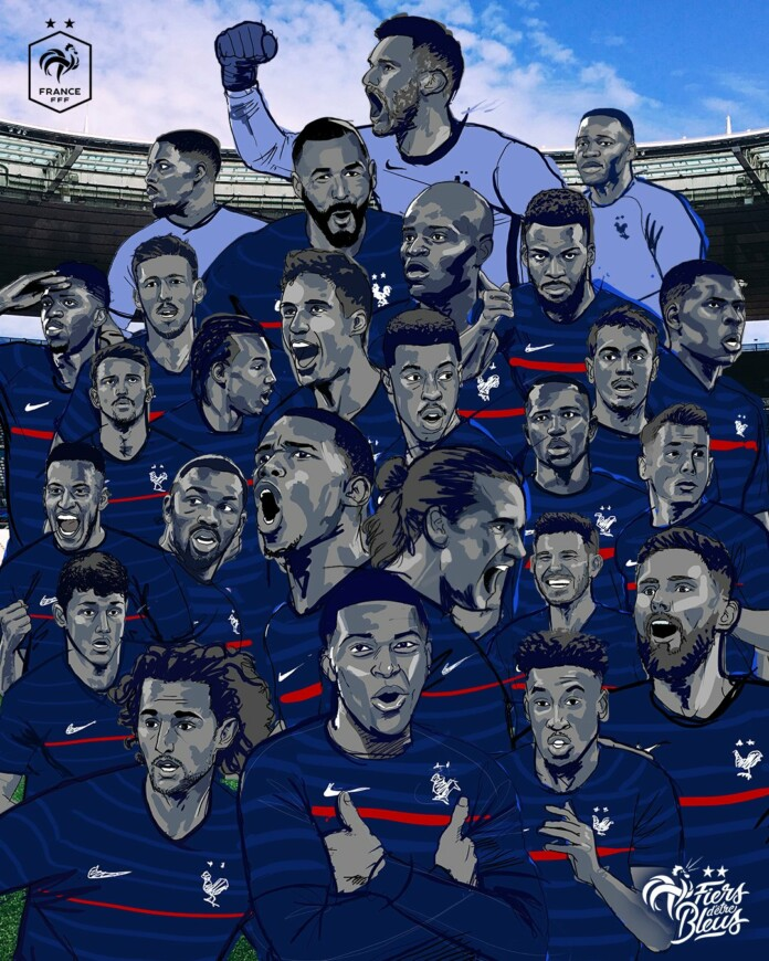 France National football team's squad for EURO 2020