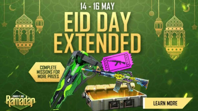 Free Fire Eid Day Extended Event