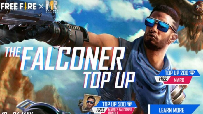 Free Fire Falconer Top-up