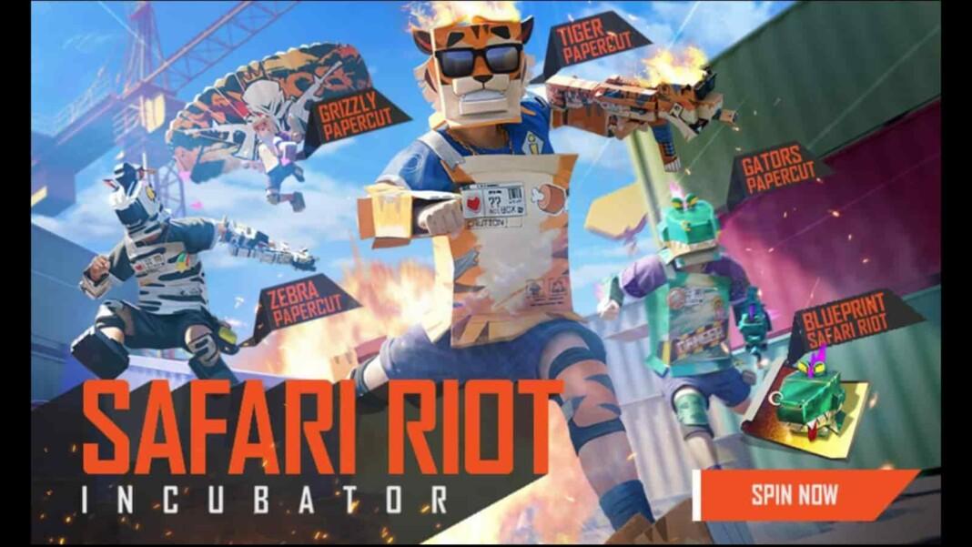 Free Fire Safari Riot Incubator