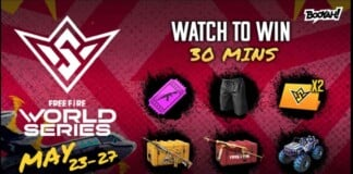 Free Fire Watch to Win Event FFWS Preheat