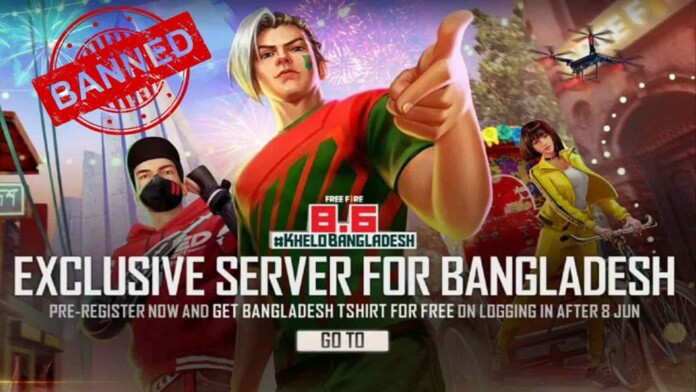 Ban Free Fire Bangladesh