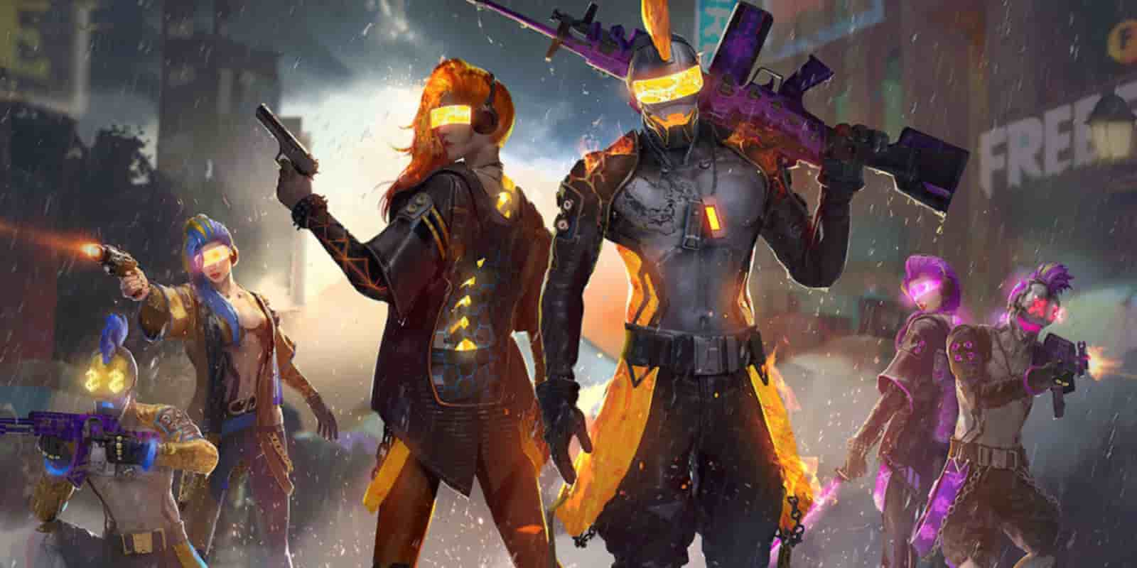 Free Fire redeem codes for May 3
