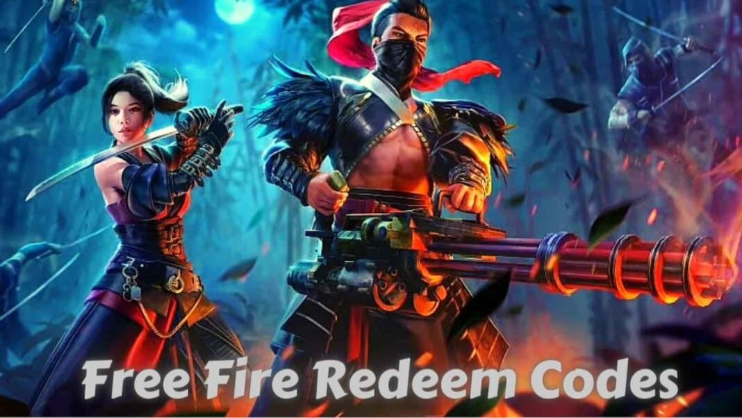 Free Fire redeem codes for today